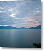 Dawn Over The Volcano 5 Metal Print