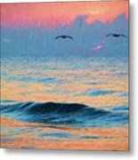 Dawn Patrol Metal Print by JC Findley
