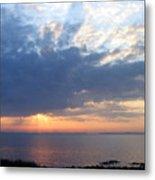 Dawn Sun Rays Metal Print