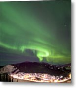 Dawson City Lights Metal Print