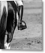 Day At The Dressage Metal Print