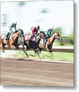 Day At The Races Metal Print