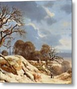 Day By The Baltic Sea Metal Print