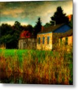 Day Is Done Metal Print by Lois Bryan