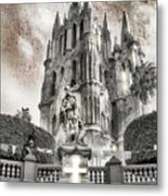 Day Of The Dead Alter Metal Print