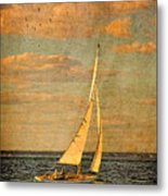 Day Sail Metal Print