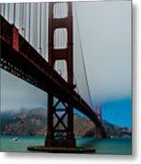 Daybreak At The Golden Gate Metal Print