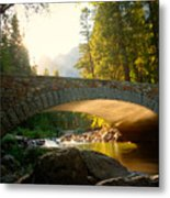 Daybreak Crossing Metal Print