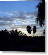 Daybreak In Florida Metal Print