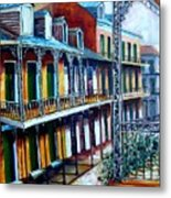 Daybreak On St. Ann Street Metal Print