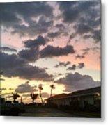Daybreak Sky In Florida Metal Print