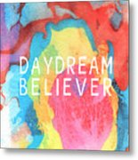 Daydream Believer- Abstract Art By Linda Woods Metal Print