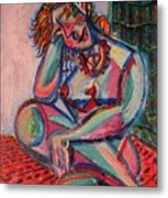Daydreaming In Color Metal Print
