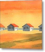Days Cottages Metal Print