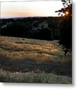 Day's End In Ten Metal Print