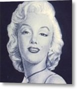 days of glory for MARILYN Metal Print