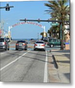 Daytona Beach Metal Print