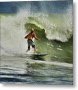 Daytona Beach Surfing Day Metal Print