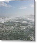 Daytona Waves Metal Print