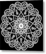 Dazzled Beads Metal Print