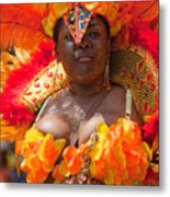 Dc Caribbean Carnival No 23 Metal Print by Irene Abdou