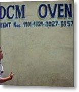 Dcm Oven Metal Print