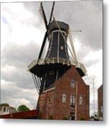 De Adriann Windmill - Haarlem The Netherlands Metal Print