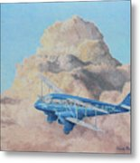 de Havilland Dragon Rapide Metal Print