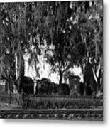 De La Ronde Plantation Home Ruins Metal Print