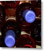 De-vine Wine Metal Print
