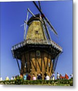 De Zwaan Windmill In Holland Metal Print