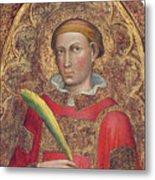Deacon Saint, With Saint Anthony Abbot Metal Print