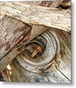 Dead Eye Tumble Wood Metal Print