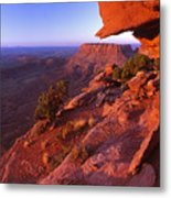 Dead Horse Point Sunset Metal Print