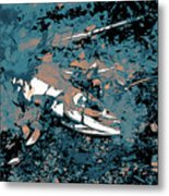 Dead Salmon 3 Metal Print