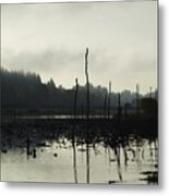 Dead Tree Waters Metal Print