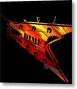 Dean Razorback - 7 String Guitar Metal Print