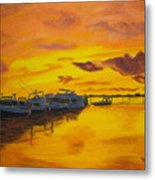 Deans Sunset Metal Print