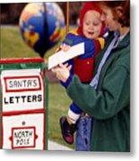 Dear Santa Metal Print