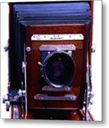 Deardorff 8x10 View Camera Metal Print by Joseph Mosley
