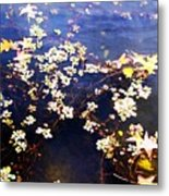 Death Among The Leaves Metal Print