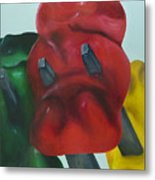 Death Of A Gummy Bear I Metal Print