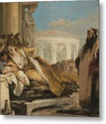 Death Of Dido Metal Print