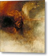 Death On A Pale Horse Metal Print