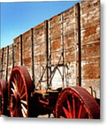 Death Valley Borax Wagons Metal Print