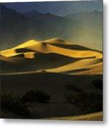 Death Valley California Symphony Of Light 4 Metal Print