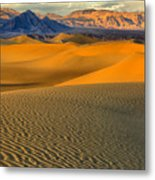 Death Valley Golden Hour Metal Print