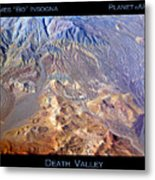 Death Valley Planet Earth Metal Print