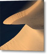 Death Valley Sand Design Metal Print