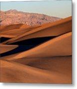Death Valley Sand Dunes Metal Print